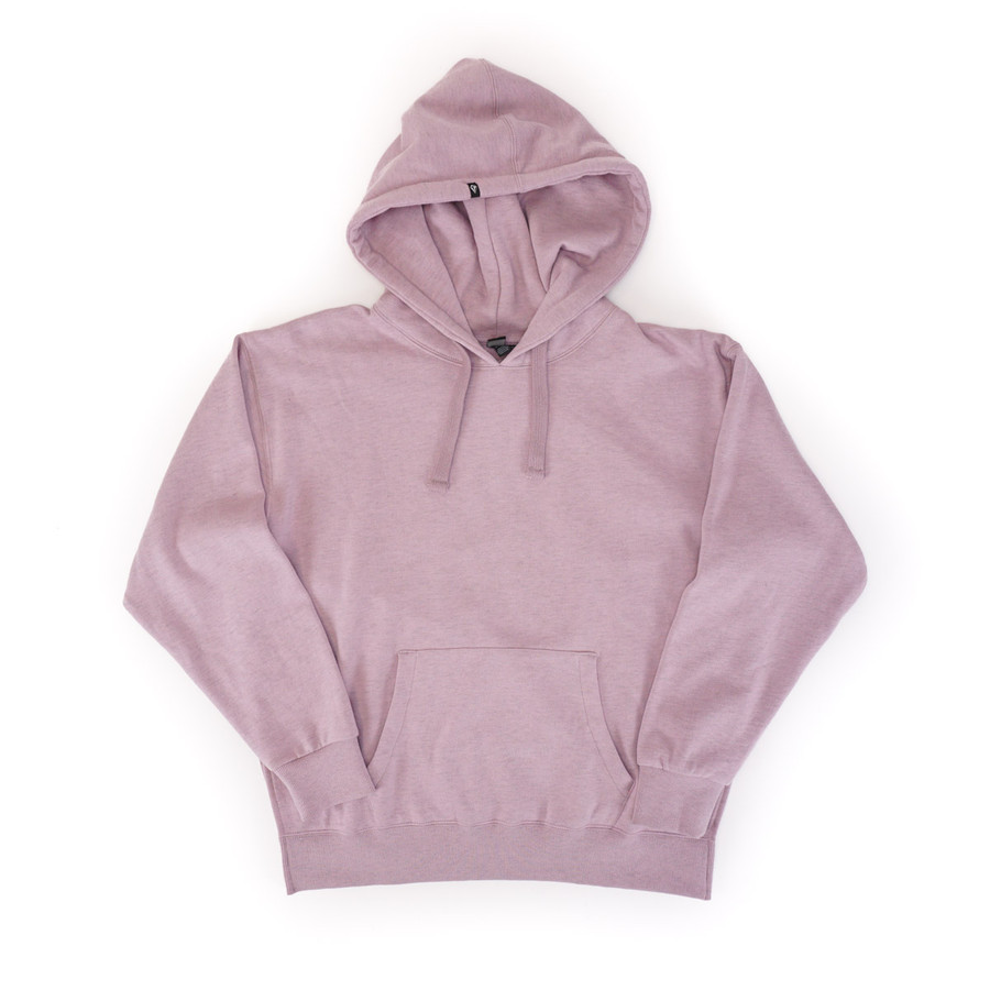 Volcom Need to Vent Hoodie in Violet Dust color front view