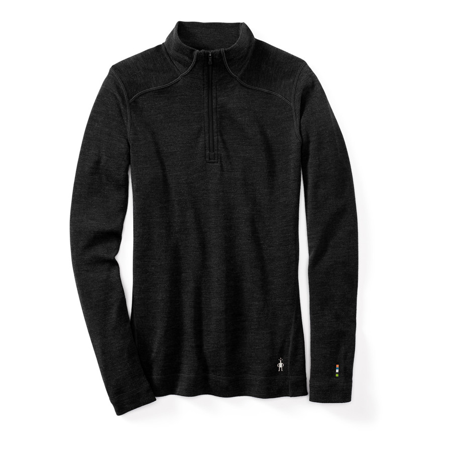Women's Merino 250 Base 1/4 Zip - Charcoal