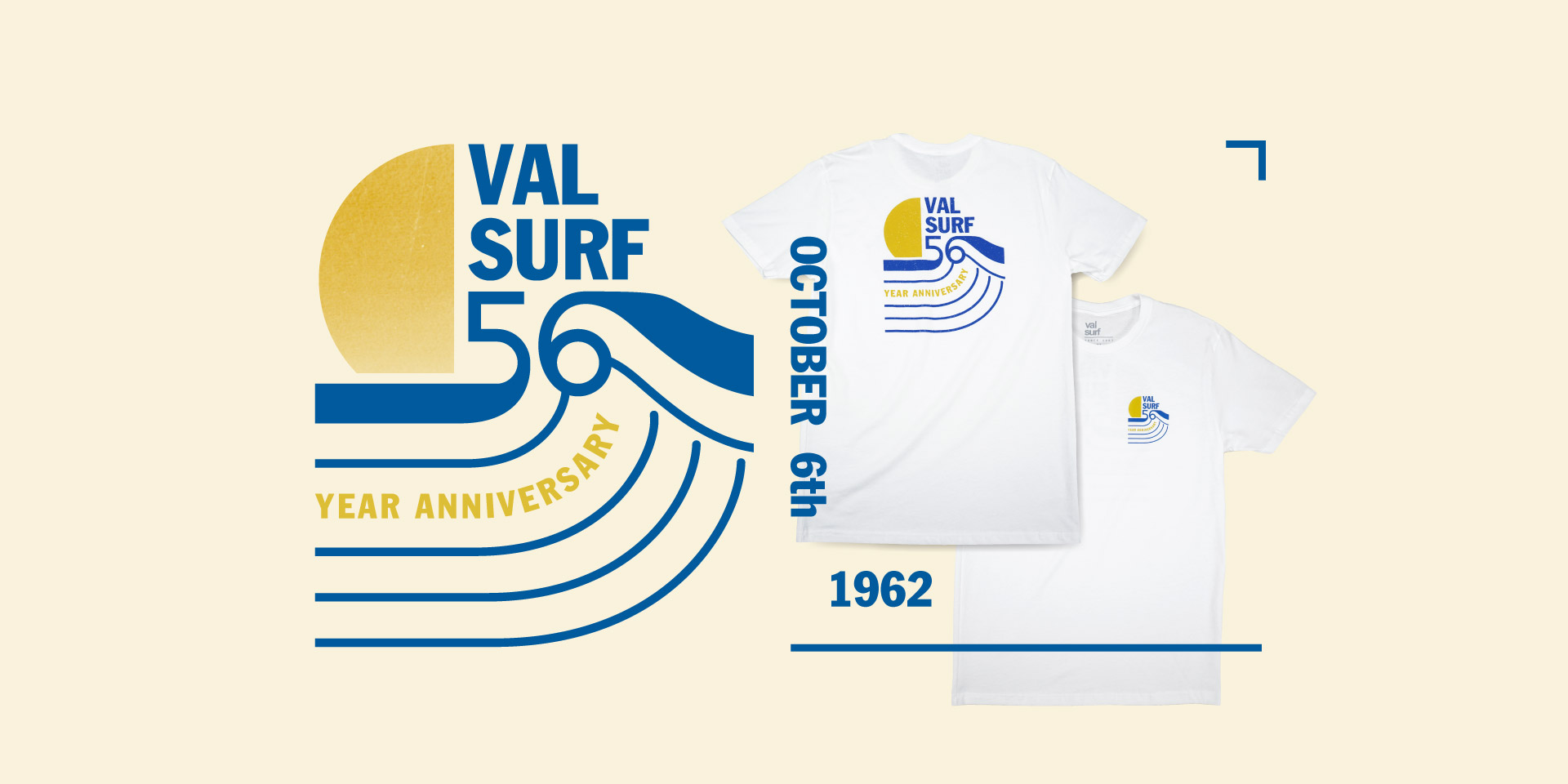 Val Surf 56th Year Anniversary October 6th 1962
