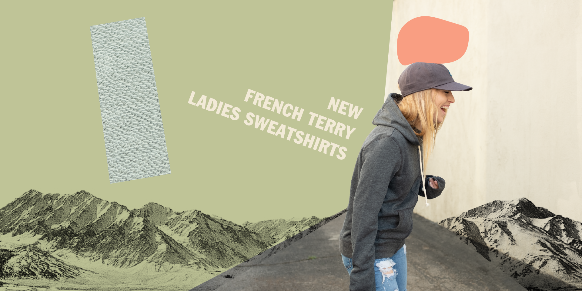 New French Terry Ladies Sweatshirts