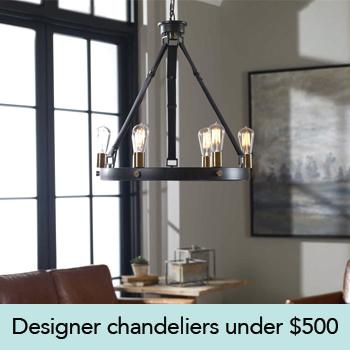 Designer Chandeliers Under $500