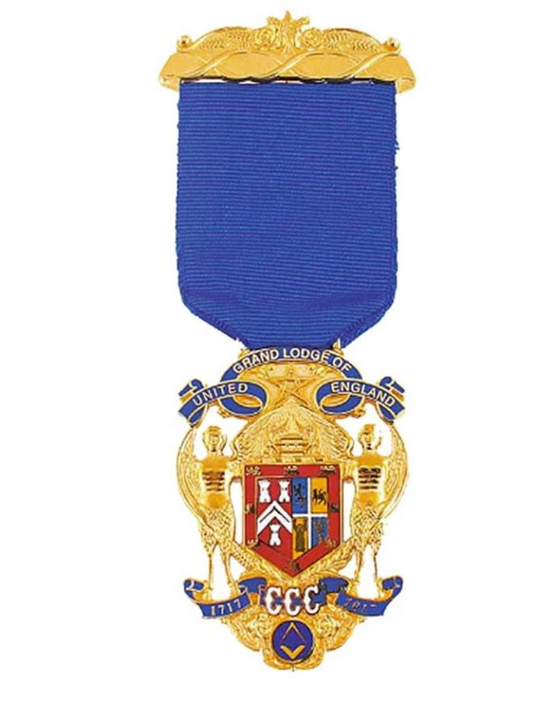 UGLE Tercentenary Jewel