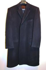 Luxurious Black Coat - Size 38
