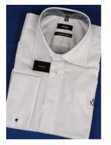 White Shirt with Square & Compass