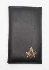 Tall Leather Credit Card Holder