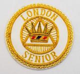 Senior London Grand Chapter Rank Apron Badge