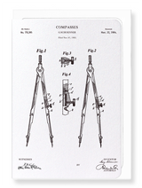 Patent of Compass Card