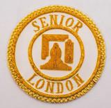Senior London Grand Rank Full Dress Apron Badge