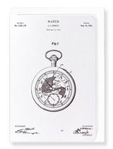 Pocket Watch Patent Card