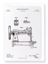 Sewing Machine Patent Card