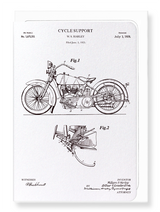 Cycle Patent Card