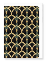 Art Deco FMH Card