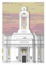 Facade  Postcard