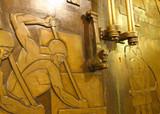 Grand Temple Doors  Postcard
