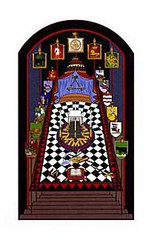 Royal Arch Chapter Room Print