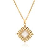 Diamond Moonstone Pendant