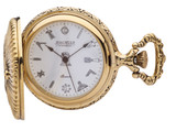 Gold Plated Hunter Pocket Watch