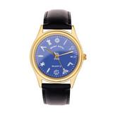 Blue Dial Wrist Watch