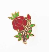 Rose Croix Pin