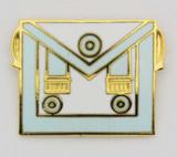 Master Masonic Apron Pin