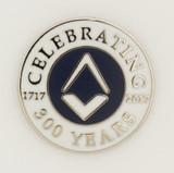 Tercentenary Pin