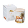 Trouvaille Global   Save The Planet Scented Soy Candle   Warming Desert w packaging