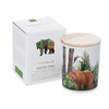 Trouvaille Global | Save The Planet Scented Soy Candle | Purifying Forest w packaging