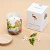 Trouvaille Global | Save The Planet Scented Soy Candle | Revitalising Freshwater w packaging lifestyle
