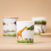Trouvaille Global   Save The Planet Scented Soy Candle   Uplifting Grassland 360º design