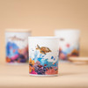 Trouvaille Global   Save The Planet Scented Soy Candle   Invigorating Marine 360º design