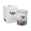 Trouvaille Global   Save The Planet Scented Soy Candle   Invigorating Marine w packaging