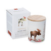 Trouvaille Global   Save The Planet Scented Soy Candle   Soothing Tundra w packaging