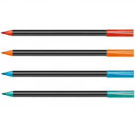 MUGPEN high quality pens for decorating on ceramic, heat resistant glass and porcelain. Perfect for adding extra colours to your Trouvaille™ World, USA or Europe mugs. Colours available: red, orange, pastel pink, light blue, turquoise, strong pink or a set of 4 (red, orange, light blue, turquoise) Once applied according to instructions, paintings will be dishwasher and microwave safe. Made in Europe.  Trouvaille™ Travel the World. Colour the World.