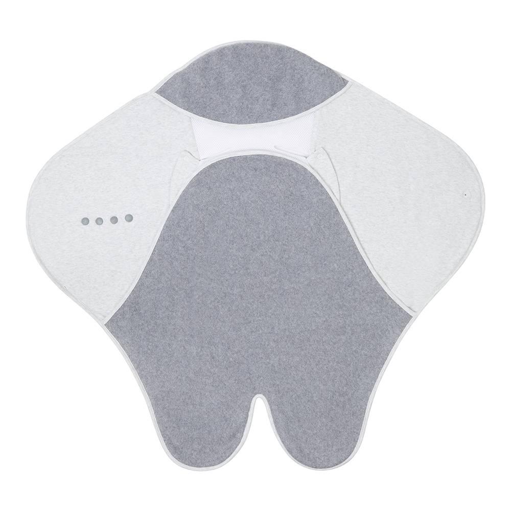 Purflo Cosy Wrap Travel Blanket - Minimal Grey