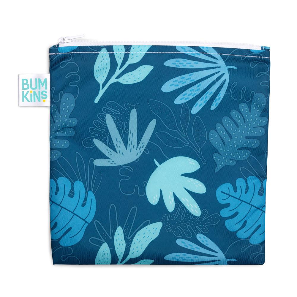 Large Snack Bag - Blue Tropic