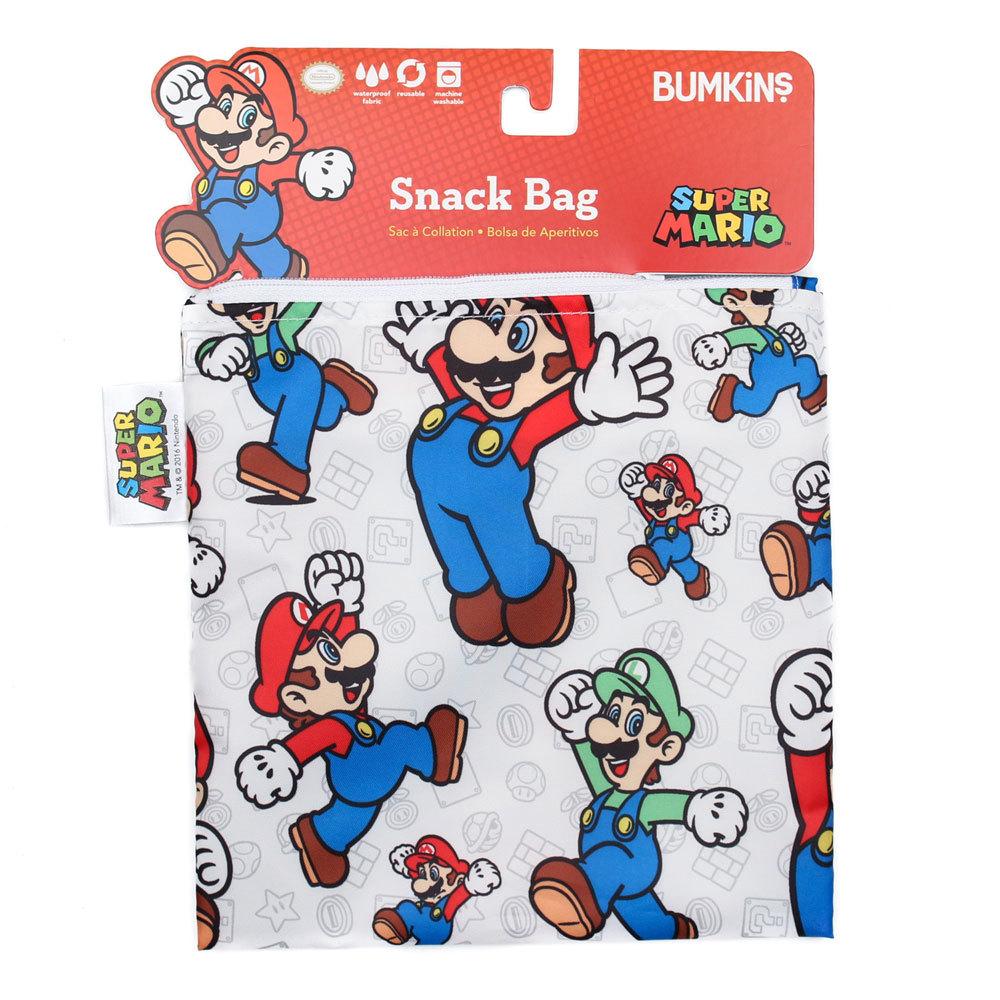 Large Snack Bag - Nintendo Mario