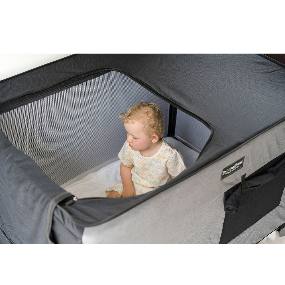 Travel Cot SnoozeShade Blackout Cover