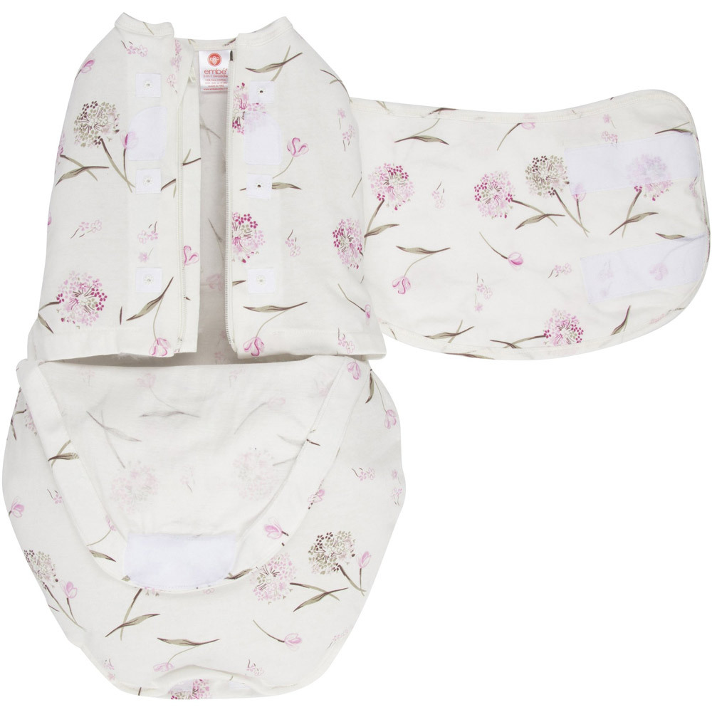 Embe Starter 2-way Swaddle - Clustered Flowers