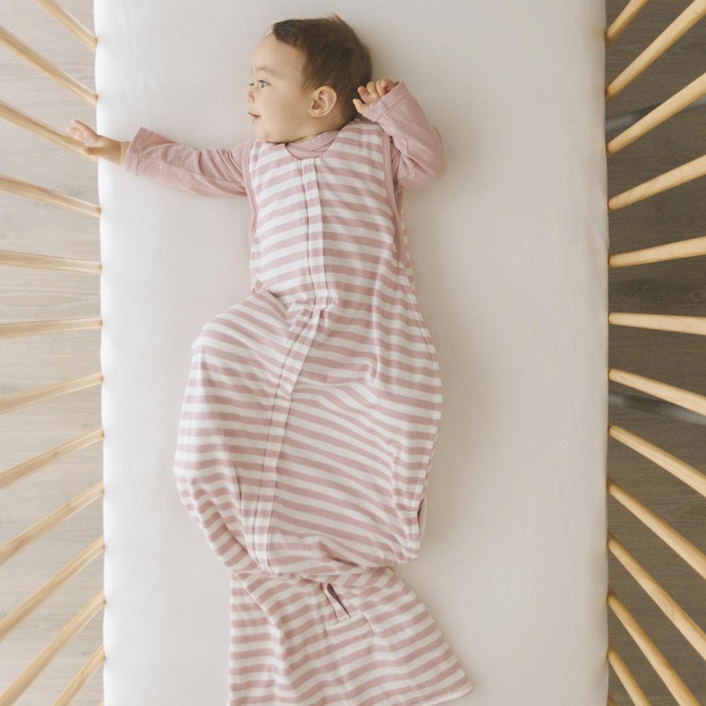 Woolbabe 3 Seasons Front Zip Merino/Organic Cotton Sleeping Bag  - Dusk