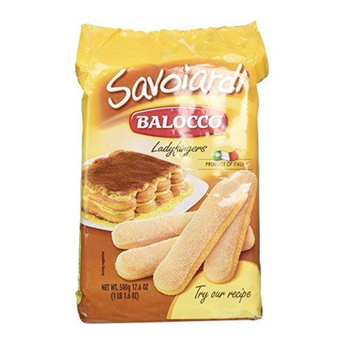 Balocco Savoiardi Lady Fingers - 17.6oz (Pack of 4)