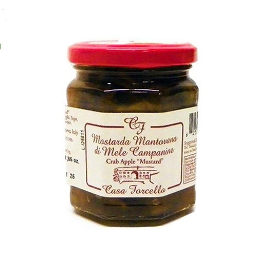 Casa Forcello Crab Apple Mustard (Mostarda) - 7.85oz