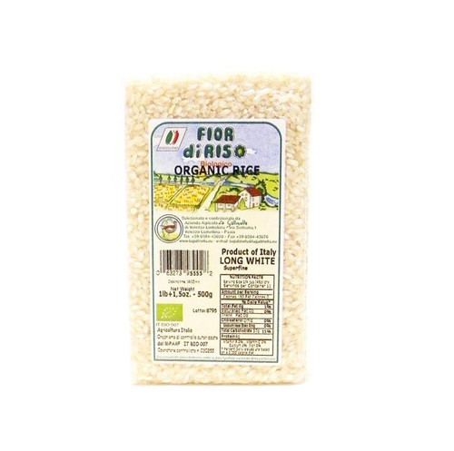 Fior di Riso Organic Long White Superfino Carnaroli Rice - 16oz
