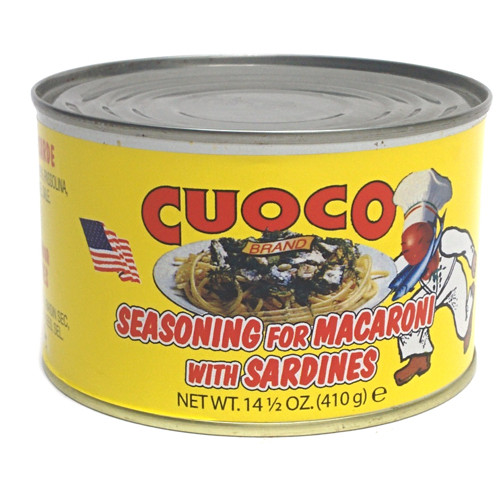 Cuoco Seasoning for Macoroni (Pasta con Sarde) - 14.5oz