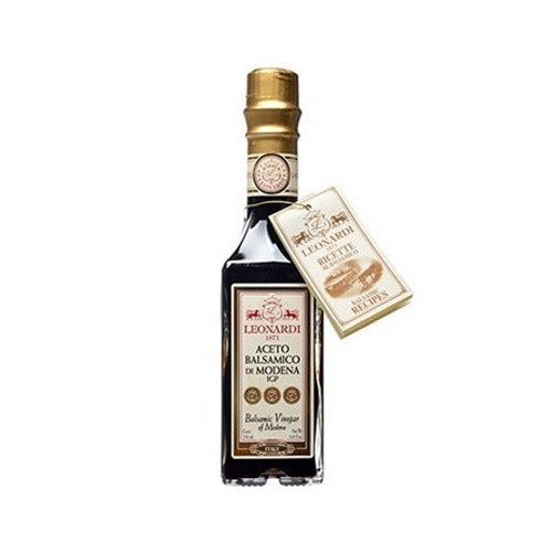 "Acetaia Leonardi ""Gold Seal"" Balsamic Vinegar of Modena - 8.45 fl oz"