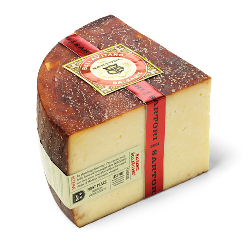 Sartori Balsamic BellaVitano Reserve Cheese  (Sold by the Pound)