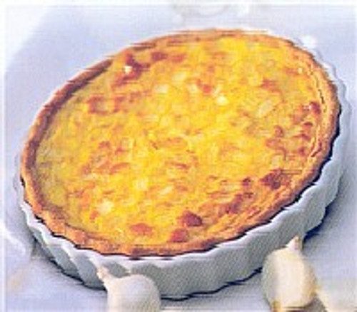 Pasta Cheese Home Style Mixed Vegetables Quiche - 20oz