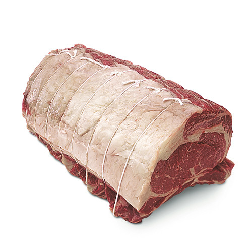 USDA Choice Beef Rib Eye Bone In Roast
