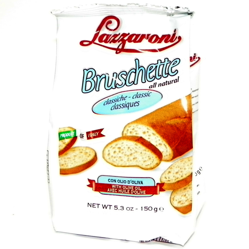 Lazzaroni Classic Bruschette with Olive Oil - 5.3oz (Pack of 2)