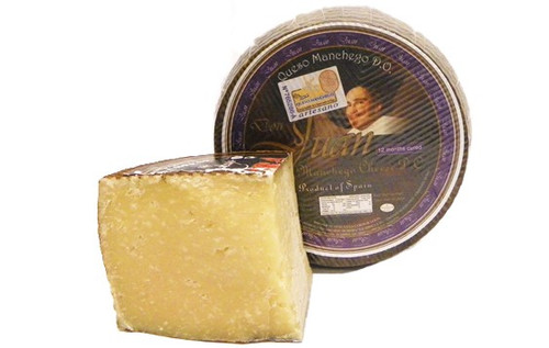 Don Juan Manchego Aged 1 Year Black Coat (Sold by the Pound)