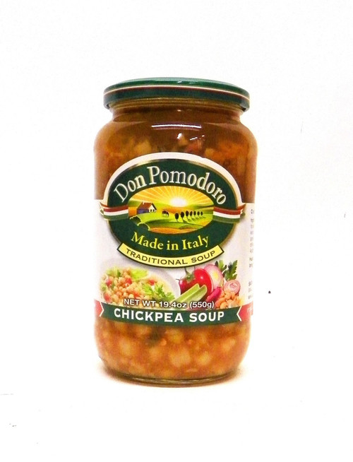 Don Pomodoro All Natural Chickpea Soup - 19.4oz